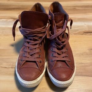 Converse All-Star Leather High Too Sneakers, 9.5